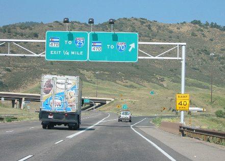 Colorado US Hwy 285